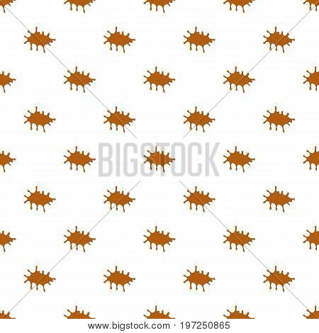 Caramel pattern seamless repeat in cartoon style vector illustration