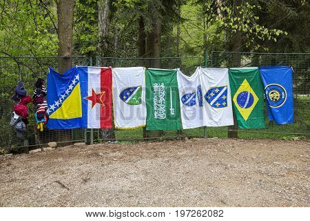 Different National Flags For For Sale