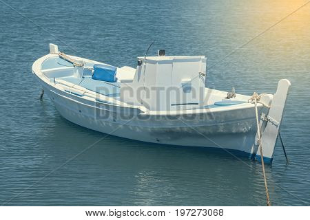Beautiful Traditional Fishing Boat On The Sea 2