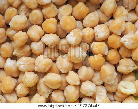 Chickpeas Legumes Vegetables Background