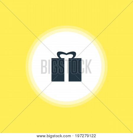 Beautiful Check-In Element Also Can Be Used As Present Element.  Vector Illustration Of Gift Icon.
