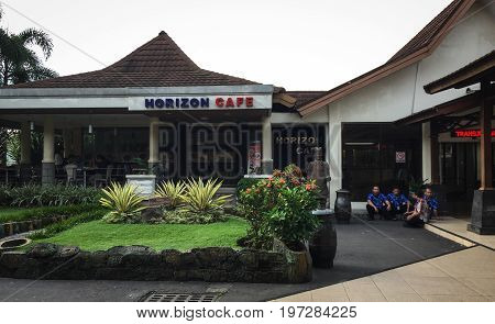 Bus Station In Yogyakarta, Indonesia