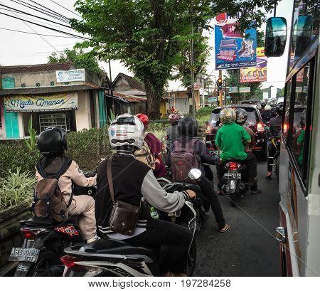 Street In Yogya, Indonesia
