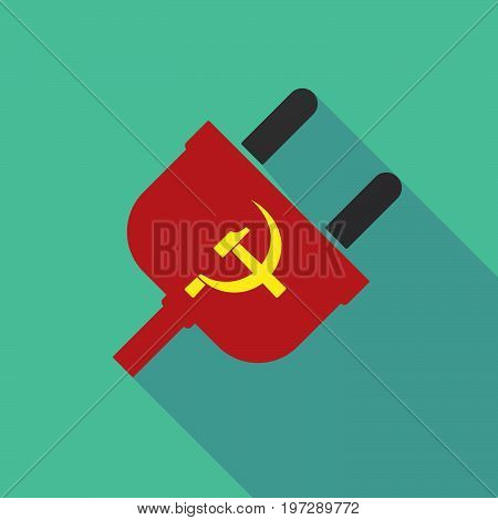Long Shadow Plug With  The Communist Symbol