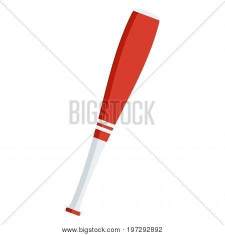 Red Baseball Bat