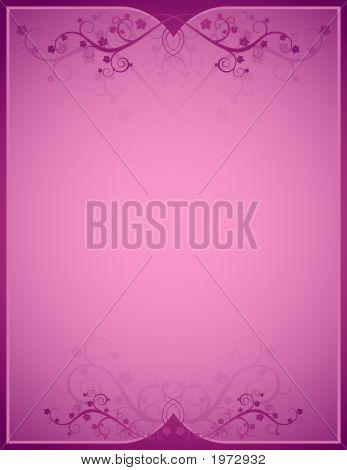 Pink Background, Vetor