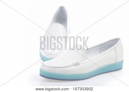 Sports Footwear For Women As Casual Lifestyle Concept