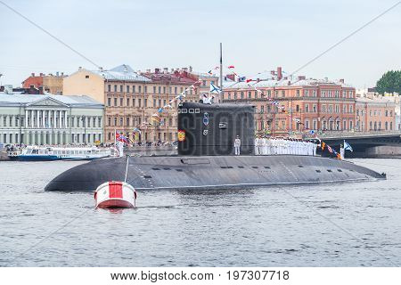 Russian Naval Diesel-electric Attack Submarine