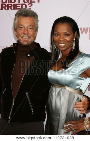 LOS ANGELES - OCT 4:  Stephen J. Cannell & Vanessa Williams arrive at the