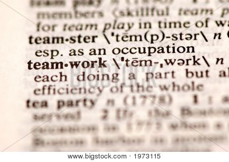 Teamwork Dictionary
