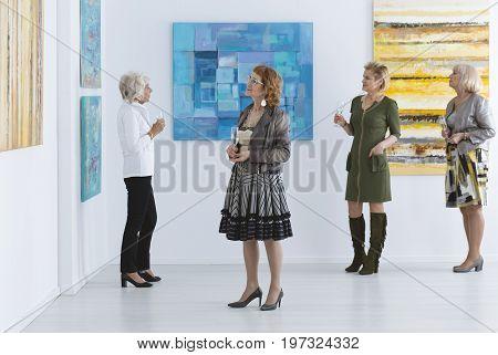 Elder Women During Opening