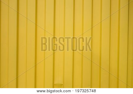 Yellow zinc plate - Texture zinc yellow empty space for text