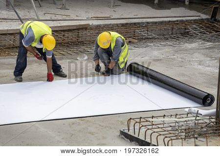 Foundation Waterproofing Installation