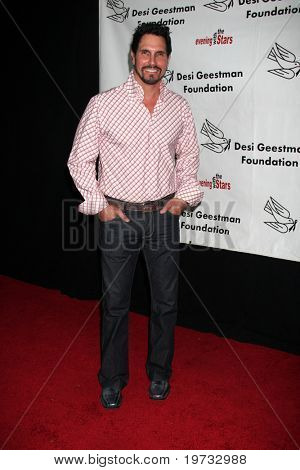 """LOS ANGELES - OCT 9:  Don Diamont arrives at the """"Evening WIth the Stars 2010"""" benefit for the Desi Geestman Foundation at Farmer's Market.Theatre on October 9, 2010 in Los Angeles, CA"""