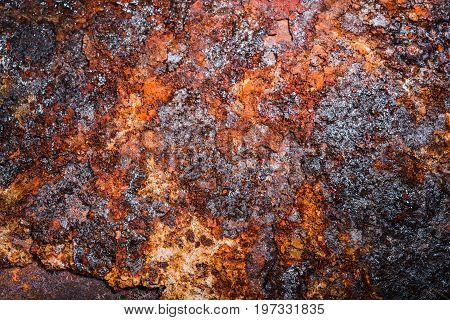 Corroded Metal Background