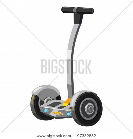 Electric scooter icon. Cartoon illustration of electric scooter vector icon for web design