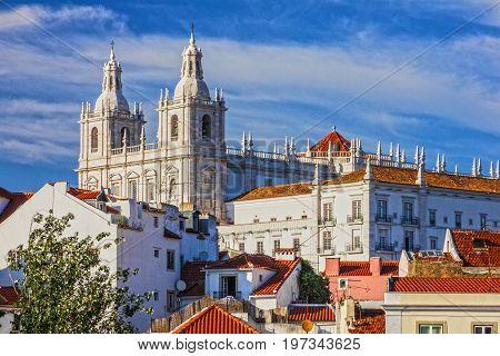 Lisbon, Portugal, Monastery Saint Vicente de Fora