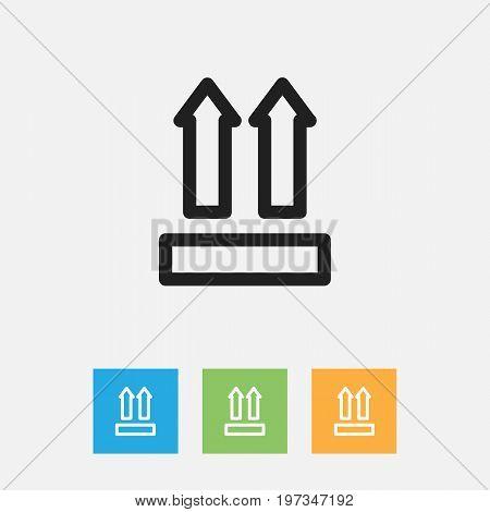 Vector Illustration Of Shopping Symbol On Identification Outline