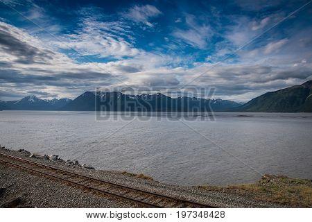 Seward Highway In Alaska
