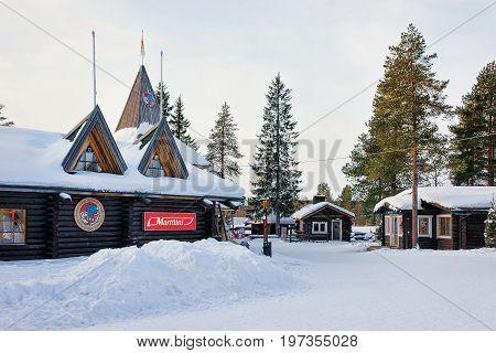 Santa Claus Village Lapland Of Scandinavia