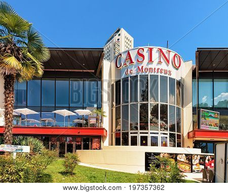 Casino House At Geneva Lake In Montreux