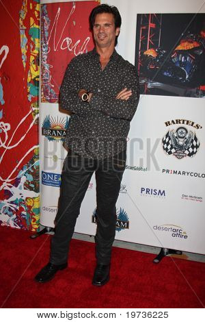 LOS ANGELES - OCT 21:  Lorenzo Lamas at the Harley Davidson Showcase:  Unveiling of Cosmic Harley by Artist Jack Armstrong at Bartels' Harley-Davidson on October 21, 2010 in Marina Del Rey, CA