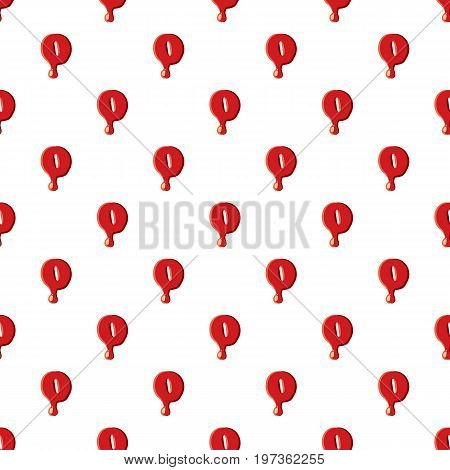 Zero number isolated on white background. Red bloody zero number vector illustration
