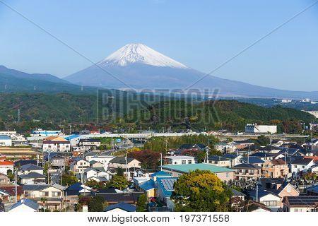 Fujisan in Shizuoka of Japan