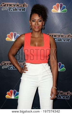 NEW YORK-AUG 26: Singer Mel B attends the 'America's Got Talent' Season 10 Results Show at Radio City Music Hall on August 26, 2015 in New York City.