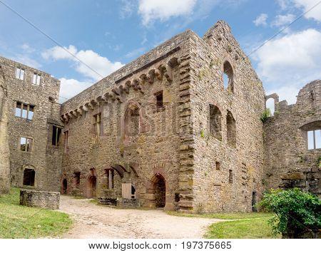 Old Castle ruins, Baden-Baden, Germany