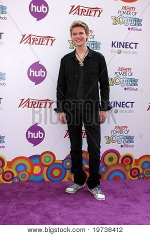LOS ANGELES - OCT 24:  Kenton Duty arrives at the Variety Power of Youth Event 2010 at Paramount Studios on October 24, 2010 in Los Angeles, CA