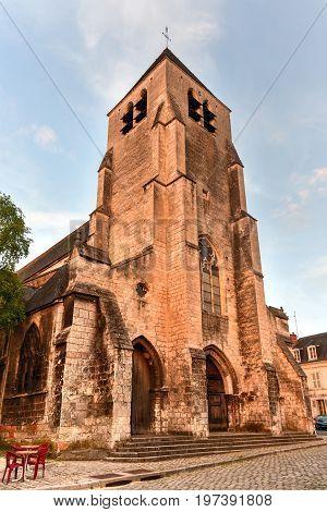Church Saint-pierre-le-guillard Of Bourges