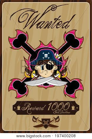 Wanted Pirate Poster.eps