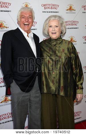 LOS ANGELES - OCT 30:  Dick Van Dyke, Sally Ann Howes arrives at the Chitty Chitty Bang Bang LA Screening at Pacific Theaters at The Grove on October 30, 2010 in Los Angeles, CA