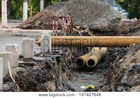 Concrete Pipeline Construction