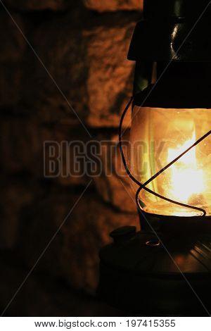 Old fire Tallinn Estonia Oil lamp Eesti