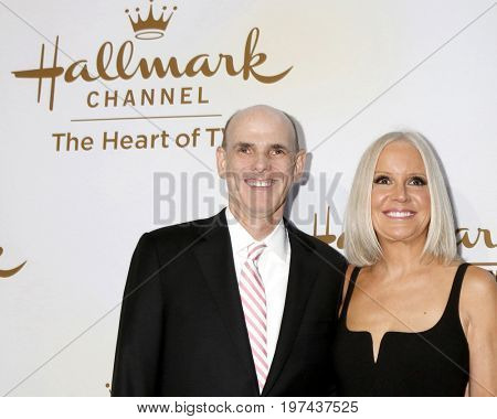 LOS ANGELES - JUL 27:  Bill Abbott, Michelle Vicary at the Hallmark TCA Summer 2017 Party at the Private Residence on July 27, 2017 in Beverly Hills, CA