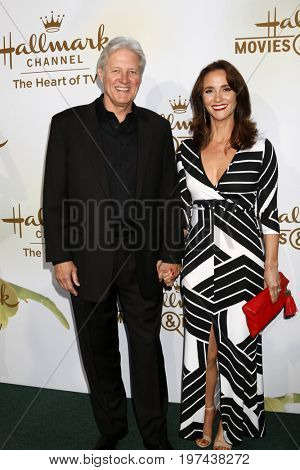 LOS ANGELES - JUL 27:  Bruce Boxleitner, Verena King-Boxleitner at the Hallmark TCA Summer 2017 Party at the Private Residence on July 27, 2017 in Beverly Hills, CA