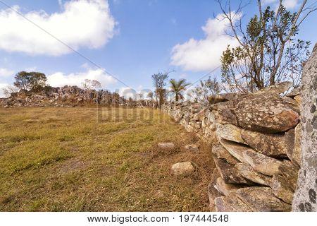 Stone Curral Serra da Canastra National Park is a national park in the Canastra Mountains of the state of Minas Gerais Brazil.