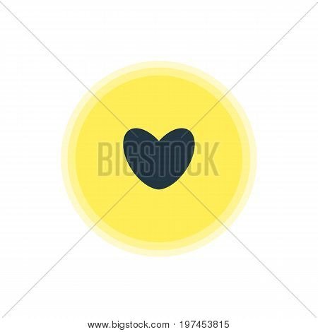 Beautiful Check-In Element Also Can Be Used As Heart Element.  Vector Illustration Of Love Icon.