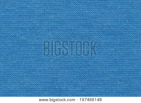 Viscose stretch blue color texture backdrop high resolution