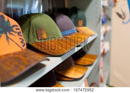 Hawaiian Koa Wood Brimmed Hats