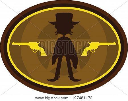 Cowboy Silhouette 3.eps