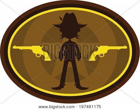 Cowboy Silhouette 2.eps
