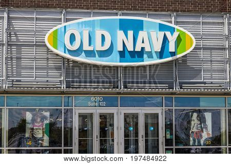Indianapolis - Circa July 2017: Old Navy Retail Mall Location. Old Navy is a Division of Gap Inc. V