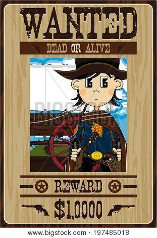 Cowboy Bandit Poster
