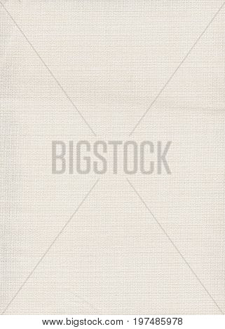 Jersey Fabric Background. White Canvas Texture