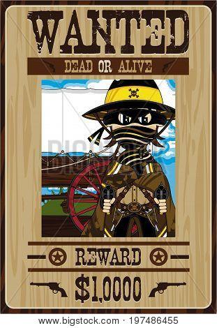 Cowboy Gunslinger Poster.eps