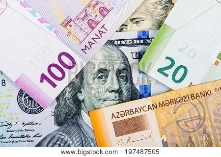 Azerbaijan national currency is manat. Currency devaluation