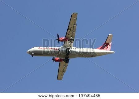 Xy-aiu Atr72-200 Of Asian Wings.